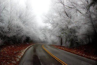 Photograph - Winter Road Trip by Michael Eingle
