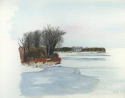 Drawing - Winter by Rosellen Westerhoff