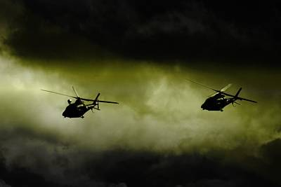 South African Air Force Photograph - Winter Rotors by Paul Job