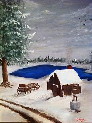 Winter Art Print by Roy J Moyle