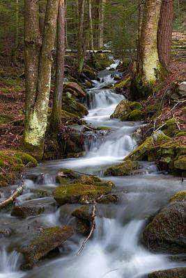 Wall Art - Photograph - Winter Runoff by Scott Hafer