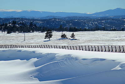 Photograph - Winter Scapes by Trent Mallett