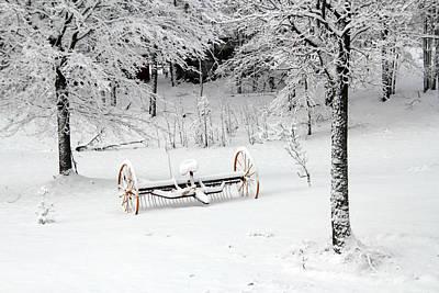 Photograph - Winter Scene 1 by Jim Vance