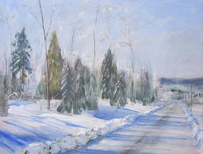 Winter Morning Original
