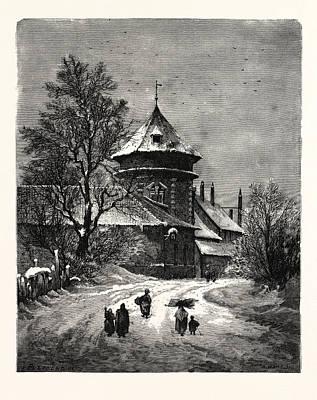 Winter Scenes, Winter Picture,winter Wonderland Art Print by English School