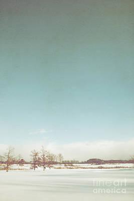 Winter Scenic Original by Margie Hurwich