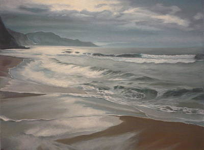 Painting - Winter Sea  by Caroline Philp