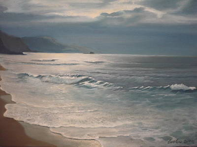 Painting - Winter Sea II by Caroline Philp
