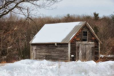 Photograph - Winter Shack by Tricia Marchlik
