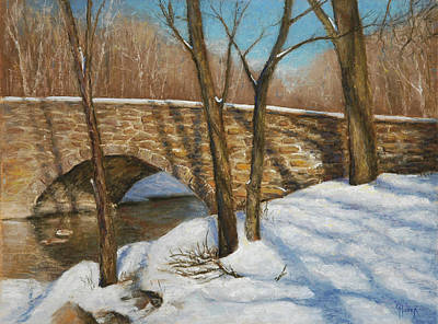 Painting - Winter Shadows by Gary Huber