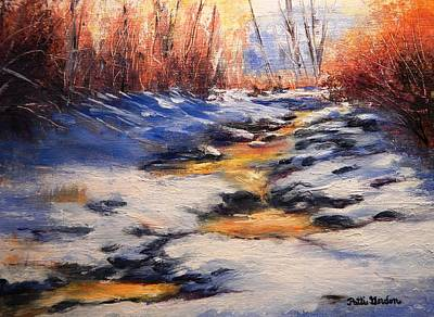 Painting - Winter Shadows by Patti Gordon