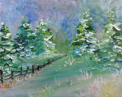 Painting - Winter Silence by Lauren Heller
