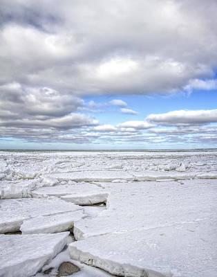 Photograph - Winter Skaket Beach by Mikael Carstanjen