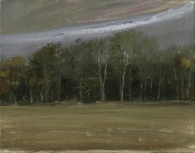Painting - Winter Sky by John Reynolds