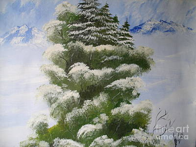 Winter Snow Original by Collin A Clarke