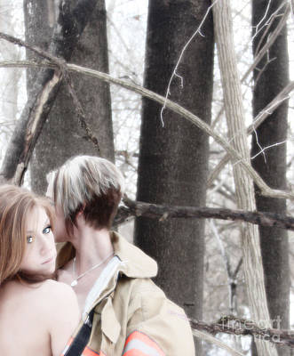 Erotic Photograph - Winter Solace  by Jacob Smith