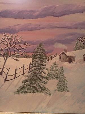 Winter Solitude Art Print by Renee McKnight