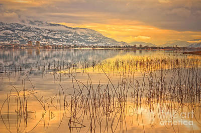 Okanagan Valley Photograph - Winter Solstice 5 by Tara Turner