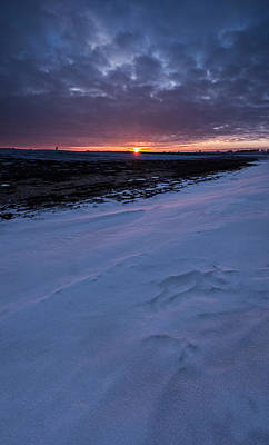 Snow Drifts Photograph - Winter Solstice  by Aaron J Groen
