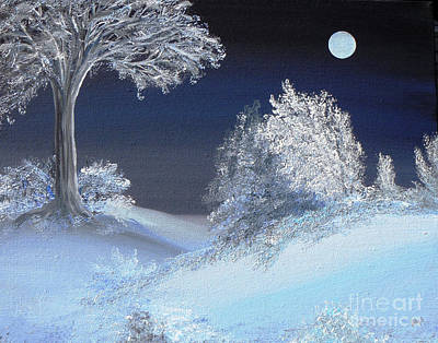 Winter Solstice Art Print by Alys Caviness-Gober