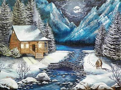 Painting - Winter Solstice by Kevin F Heuman