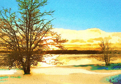 Manipulation Photograph - Winter Solstice by Mario Carini