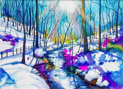 Winter Solstice Painting - Winter Solstice by Patricia Allingham Carlson