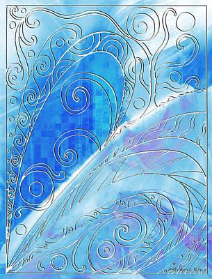 Winter Solstice  Art Print by Shawna Rowe