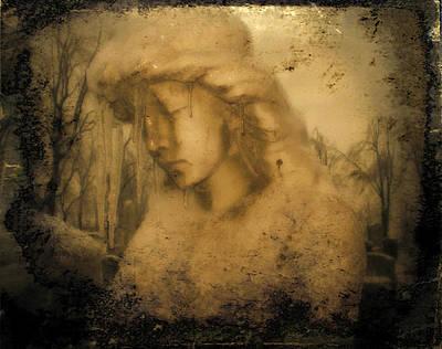 Winter Soulful Angel Art Print