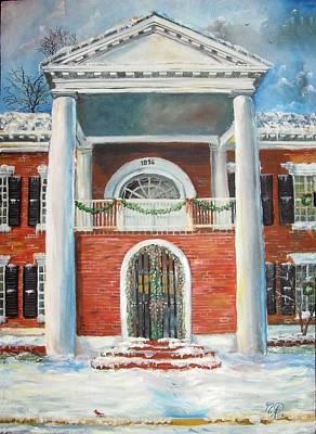 Painting - Winter Spirit In Dahlonega by Nicole Angell