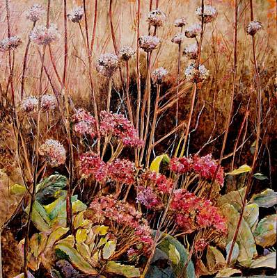 Painting - Winter Stalk by Marilyn McMeen Brown