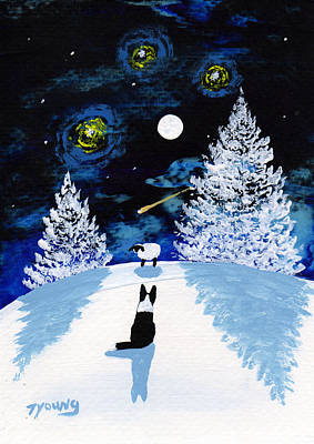 Scotch Painting - Winter Star by Todd Young