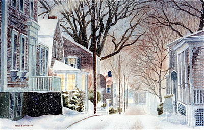 Winter Still Art Print