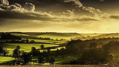 Kent Photograph - Winter Sun by Ian Hufton