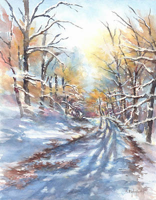Painting - Winter Sun II by Kerry Kupferschmidt