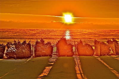 Photograph - Winter Sunrise by Joe  Burns