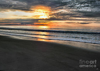 Photograph - Winter Sunrise On Ocean Isle by Sandra Clark