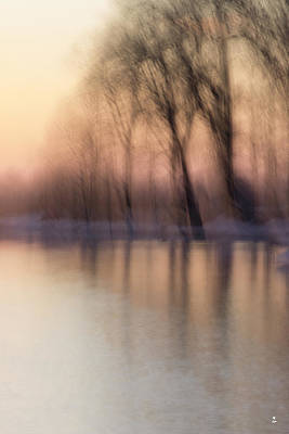 Photograph - Winter Sunset-1 by Minartesia