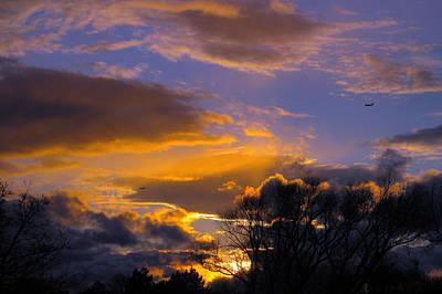 Photograph - Winter Sunset by Dragan Kudjerski
