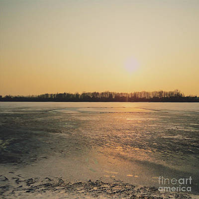 Valentines Day - Winter sunset by Michal Aniol