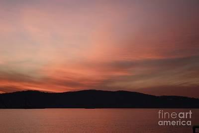 Photograph - Winter Sunset Over Sleepy Hollow by John Telfer
