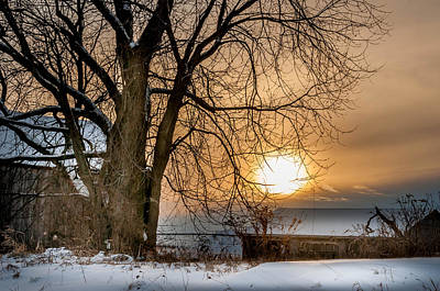 Photograph - Winter Sunset by Patti Raine