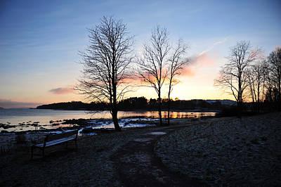 Photograph - Winter Sunset by Randi Grace Nilsberg