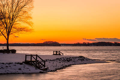 Charlotte Photograph - Winter Sunset by Serge Skiba