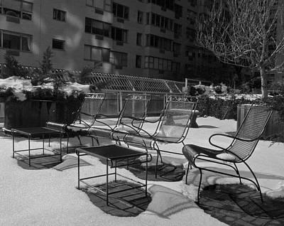 Photograph - Winter Terrace by Deborah Smith