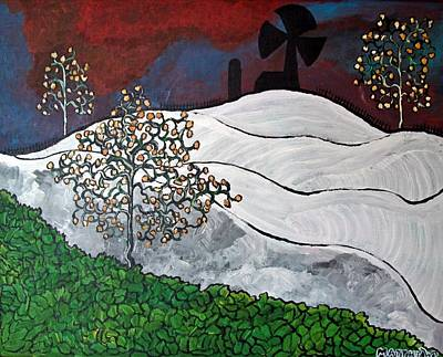 Painting - Winter Thaw by Matthew  James