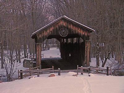 Winter Threw The Bridge. Original by Joseph Wiegand