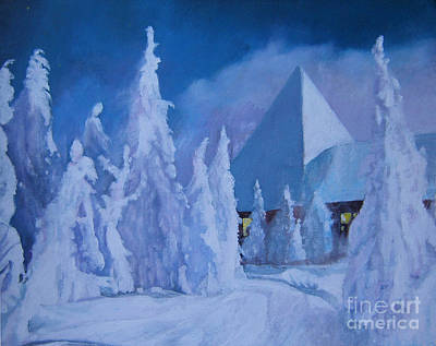 Wall Art - Painting - Winter Time by Klaus Grumbach