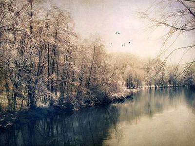 Snow Digital Art - Winter Tones by Jessica Jenney