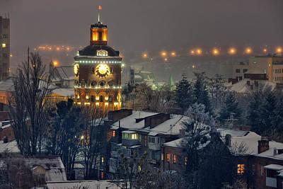 Winter Vinnitsa 03 Art Print by Zoriy Fine